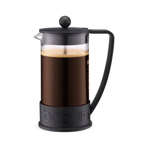 Bodum Brazil Coffee Press 8 Cup Black