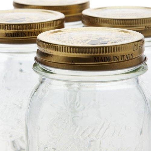 Bormioli Rocco Quattro Stagioni Storage Jars 500ml 4pc Set