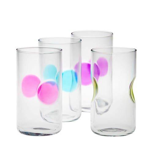 New bormioli rocco vibrante highball glass set of 4 ebay for Table vibrante