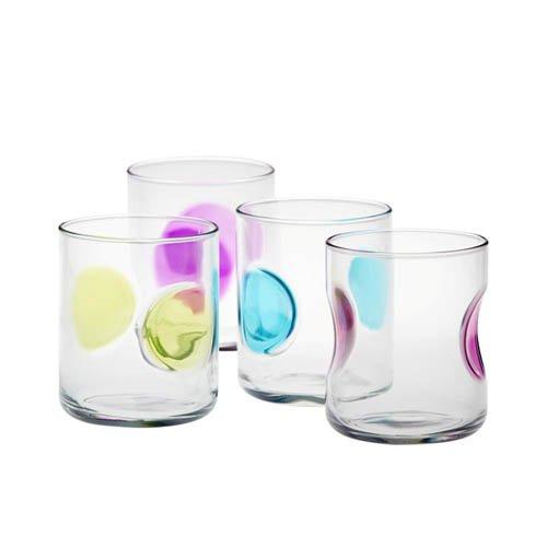 New bormioli rocco vibrante tumbler glass set of 4 rrp 35 for Table vibrante