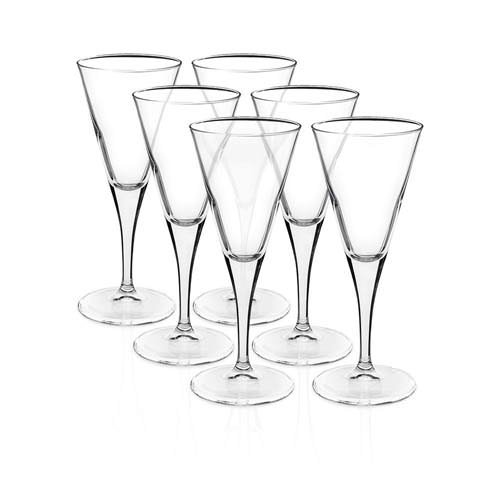 Bormioli Rocco Ypsilon Wine Glass 225ml Set of 6