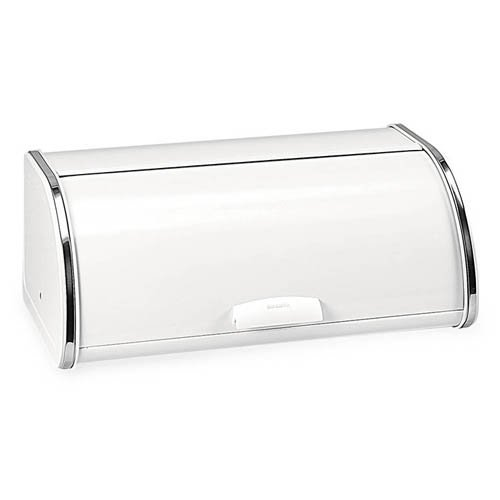 Brabantia Roll Top Bread Bin White