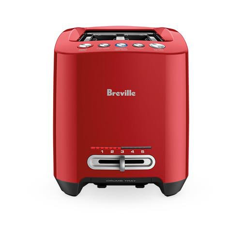 Breville The Lift and Look Touch 4 Slice Toaster Red