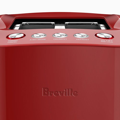 Breville the Smart Toaster 2 Slice Cranberry - On Sale Now!