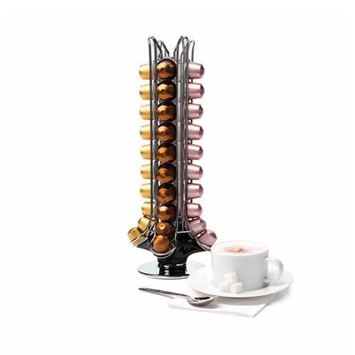 Capital 50 Carousel Coffee Capsules Holder Black