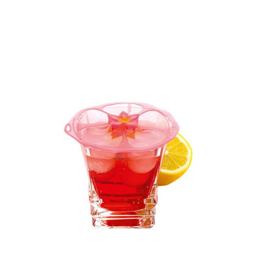 charles viancin silicone lid drink cover hibiscus xsmall 10cm fast shipping. Black Bedroom Furniture Sets. Home Design Ideas