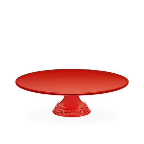Chasseur La Cuisson Cake Stand 30cm Red
