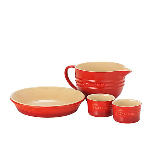 Chasseur La Cuisson 4pc Starter Set Red