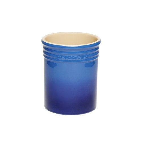 Chasseur La Cuisson Utensil Jar Blue