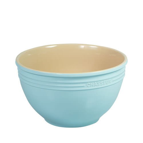 Chasseur Mixing Bowl 24cm - 3.5L Duck Egg Blue