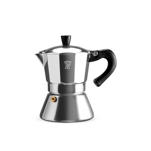 Pezzetti Bellexpress Coffee Maker 3 Cup Aluminium