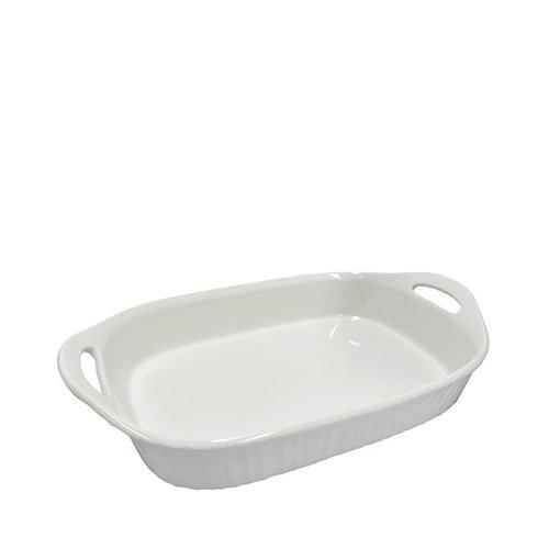 Corningware French White Oblong Baker 2.85L