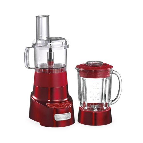 Cuisinart Blender & Food Processor Combo 1.4L Metallic Red