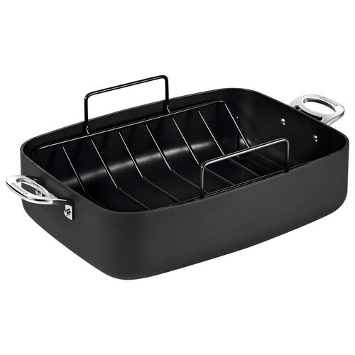 cuisinart chef ia roasting pan with rack 39 x 28cm. Black Bedroom Furniture Sets. Home Design Ideas