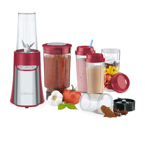 Cuisinart Compact Portable Blending & Chopping System Red