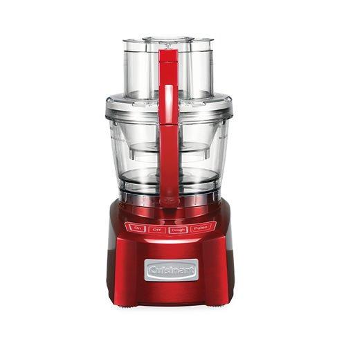 Cuisinart Elite Food Processor 14 Cup Metallic Red