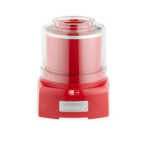 Cuisinart Ice Cream Maker 1.5L Red