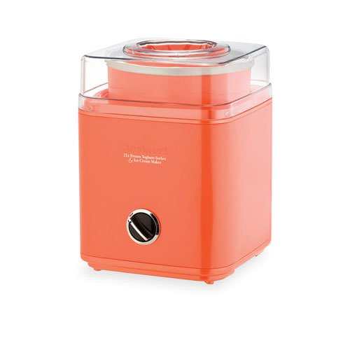 Cuisinart Ice Cream Maker 2L Papaya
