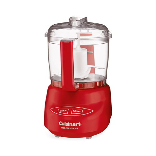 Cuisinart Mini Prep Food Processor Plus Red