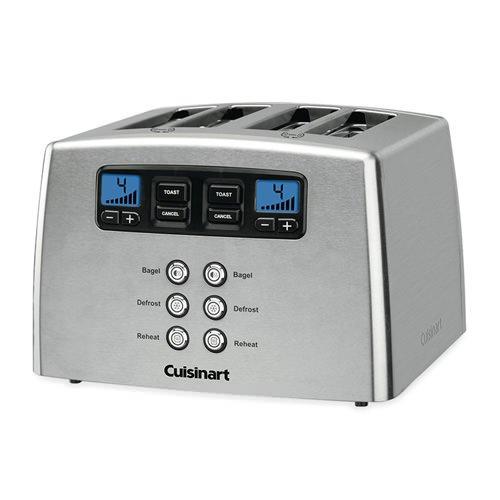 Cuisinart Stainless Steel 4 Slice Toaster