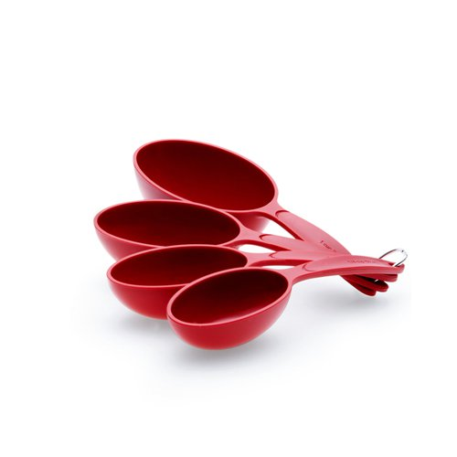 Cuisipro Measuring Cup 4pc Set Red
