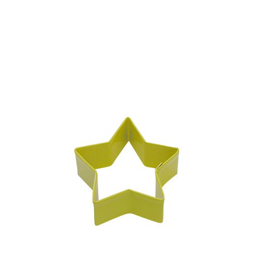 D.Line Cookie Cutter Star 7cm Yellow