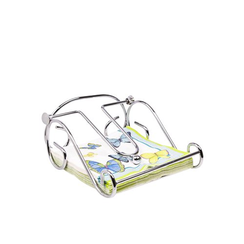 D.Line Scroll Napkin Holder Chrome