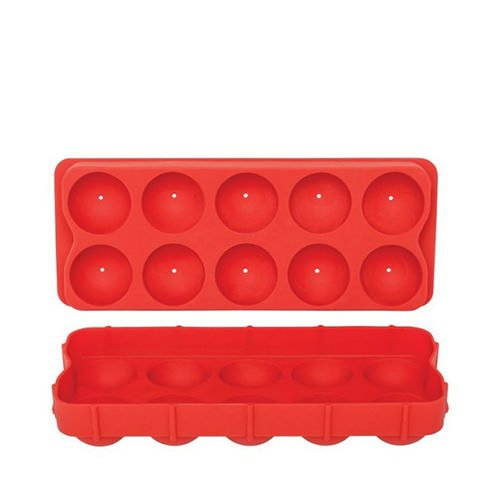 d line silicone round ice cube tray fast shipping. Black Bedroom Furniture Sets. Home Design Ideas