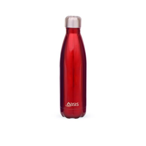 D.Line Oasis Insulated Drink Bottle 500ml Red