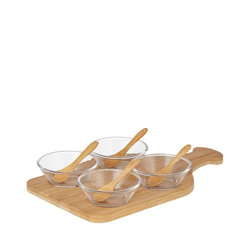 Davis & Waddell Bamboo Tasting Set