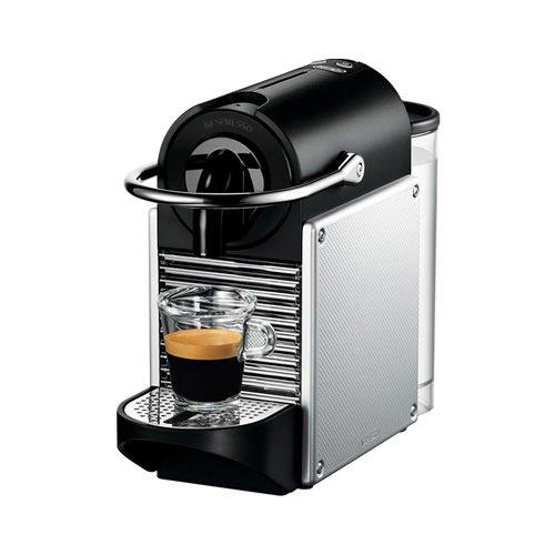 DeLonghi Nespresso Pixie Silver
