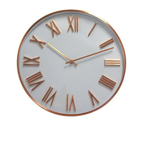 Degree Copper Wall Attic Dusk Clock 40cm Fast Shipping