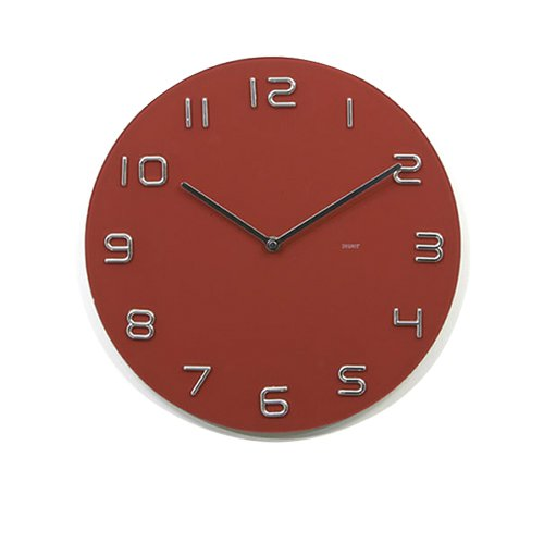 Degree Infinity Red Wall Clock