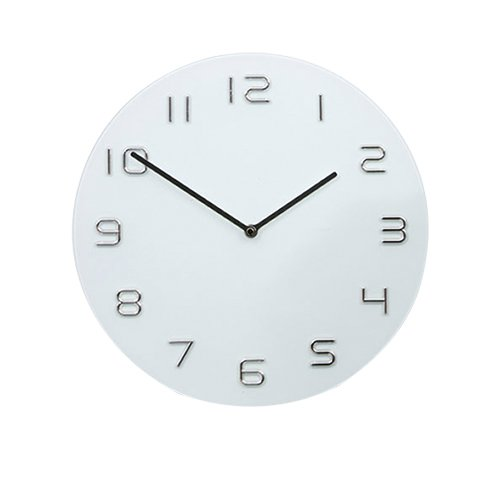 Degree Infinity White Wall Clock