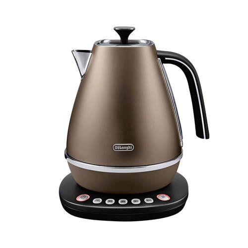 Delonghi Distinta Variable Temperature Kettle Bronze