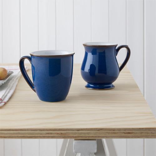 Denby Imperial Blue Craftsman's Mug 300ml