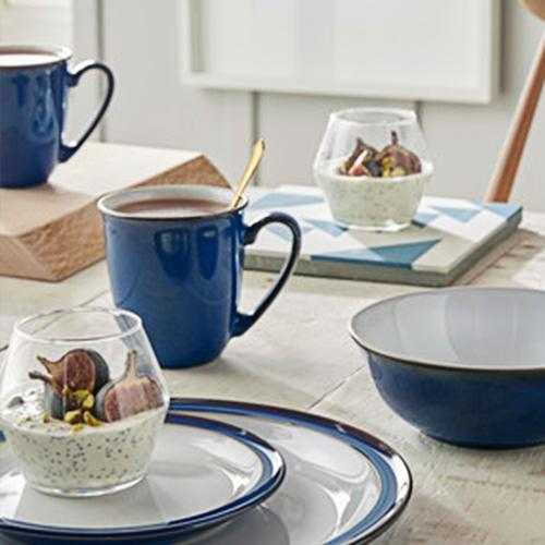 Denby Imperial Blue Coffee Beaker 300ml