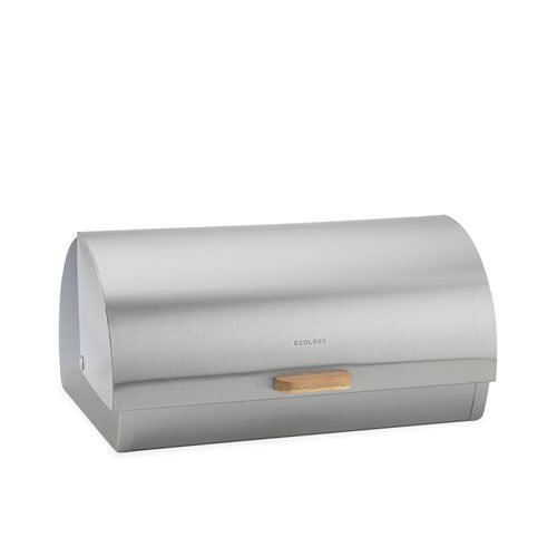 Ecology Acacia Provisions Bread Bin Stainless Steel