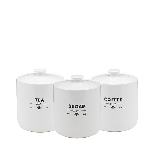 Ecology Staples Foundry Canisters Set of 3