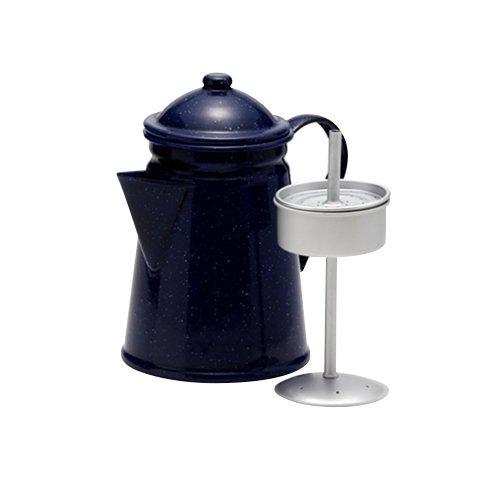 Falcon Enamel Coffee Percolator 1.2L Blue