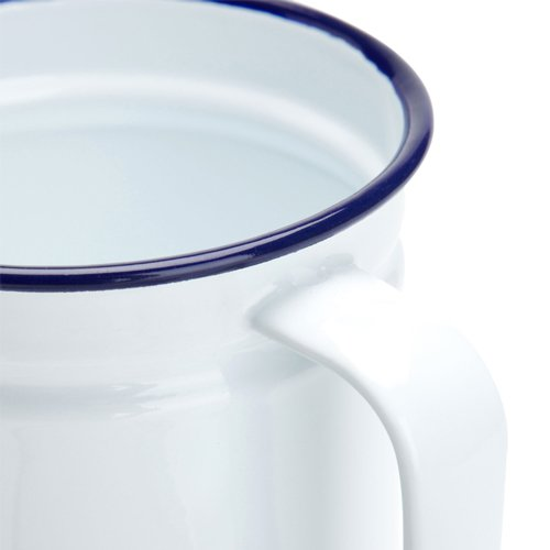 Falcon Enamel Dripping Container White image #3