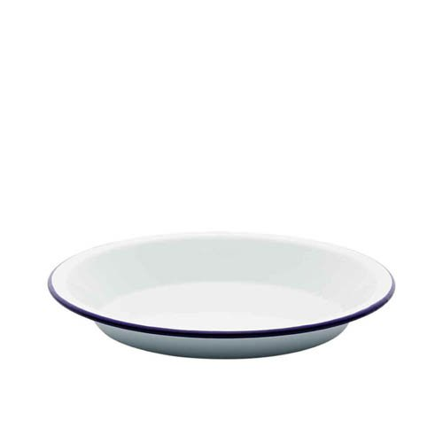 Falcon Enamel Round Pie Plate 24cm Blue