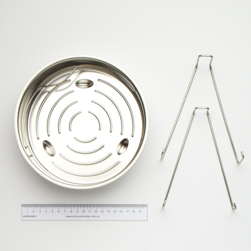 Fissler Unperforated Insert/ Tripod Stainless Steel 22cm