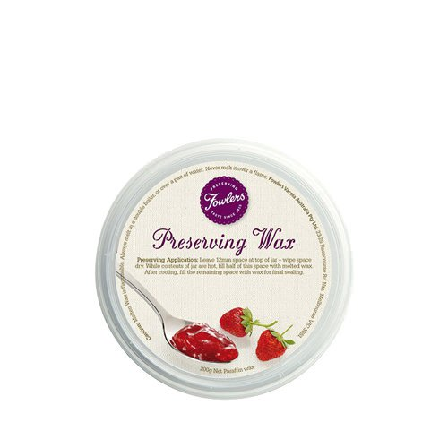 Fowlers Vacola Preserving Wax 200g