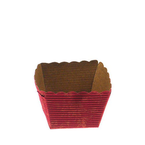 Fox Run Disposable Square Baking Paper Red 24pk