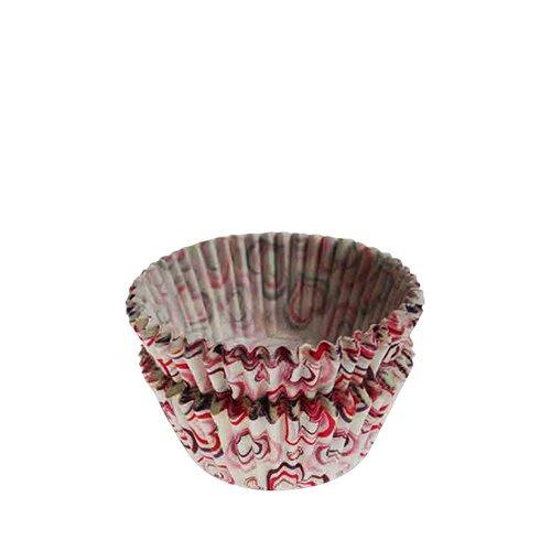 Fox Run Cupcake Paper Hearts 48pk