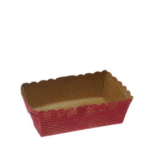 Fox Run Cupcake Paper Loaf Red 10cm 24pk