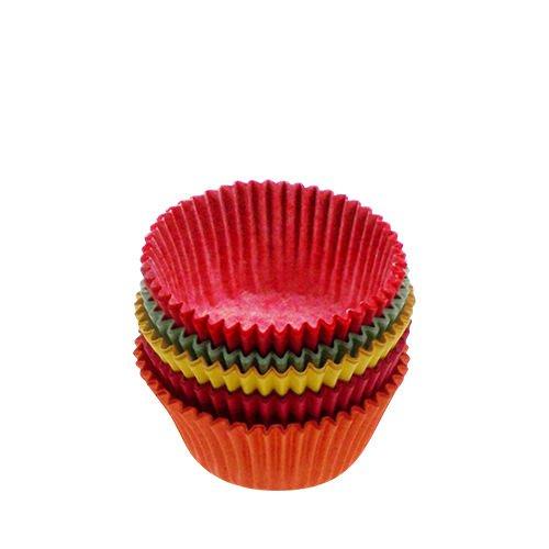 Fox Run Mini Muffin Cups Bright 60pk
