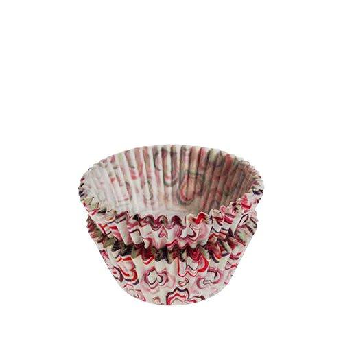 Fox Run Mini Muffin Cups Hearts 48pk