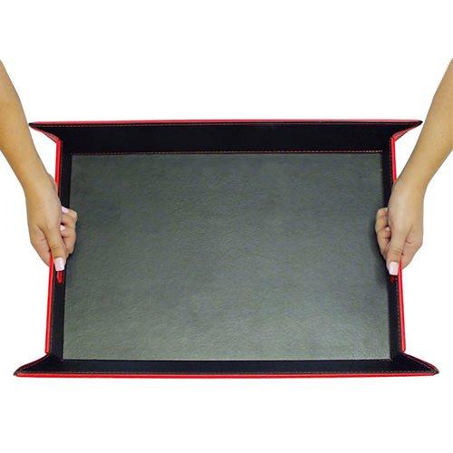 FreeForm Reversible Tray Black/Red 45x35cm